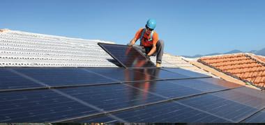 Esempio installazione impianto fotovoltaico
